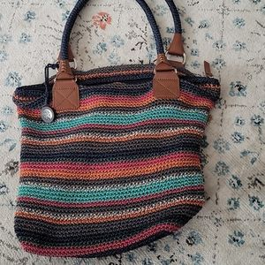 The Sak Cambria crochet tote purse